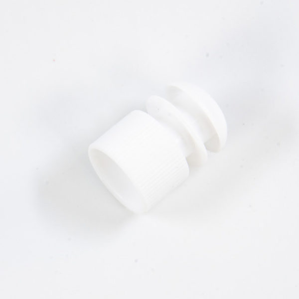 A Pour Off Tube Cap in White
