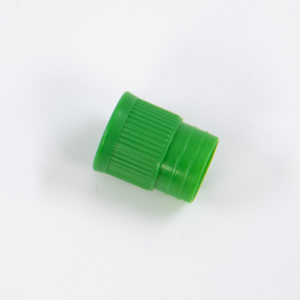 Transport Tube Cap in Green